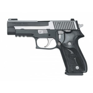 """Sig Sauer P226 Full Size CA Compliant .40 S&W 10+1 4.4"""" Pistol in Stainless Steel (SIGLITE Night Sights) - 22640SSSCA"""