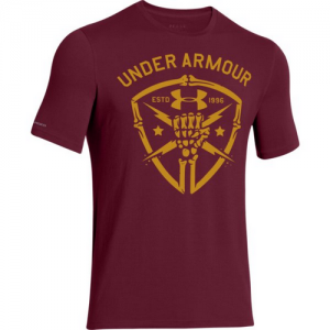 Under Armour Black Ops Fist Men's T-Shirt in Sherry/Ochre - Small