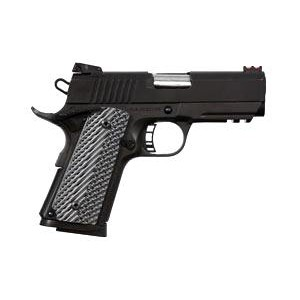"""Rock Island Armory 1911-A1 CS Tactical 2011 VZ .45 ACP 7+1 3.5"""" 1911 in Fully Parkerized Frame & Slide - 51470"""