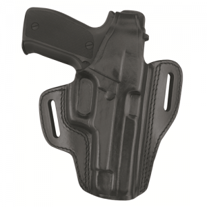 Two Slot Pancake Holster  Two Slot Pancake Holster Black Finish Fits GLOCK 26, 27, 33 - B802-G27