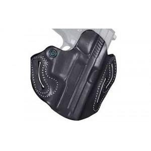 """Desantis Gunhide 2 Speed Scabbard Right-Hand Belt Holster for Ruger SP2022 in Black (3.88"""") - 002BAS4Z0"""