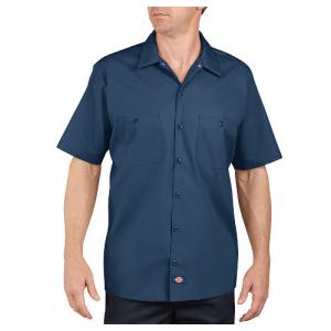 Dickies Work Shirt Men's Uniform Shirt in Navy - 3X-Large