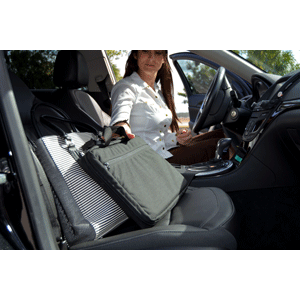 """Phalanx Defense Systems Executive Carrier System Briefcase to Level IIIA Soft Panel Body Armory One Size Fits Most up to 60"""" Waist Black 60200"""