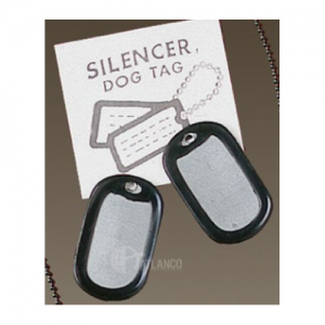 SILENCERS, DOG TAG SOLD EA