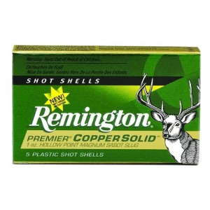 "Remington Premier Hollow Point .20 Gauge (2.75"") Slug Copper (5-Rounds) - PR20CS"