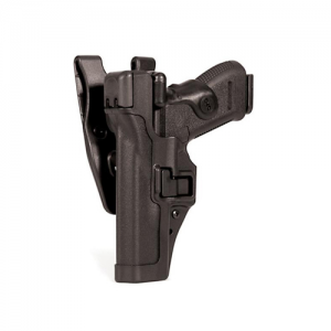 "Blackhawk Level 3 Serpa Left-Hand Belt Holster for Springfield XD in Black (4"") - 44H107BK-L"