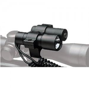 BSA Optics Precision Laser Sight & Flashlight With Mount 650nm Beam Intensity 30/50yd Range LLCP
