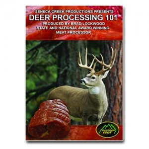 Outdoor Edge Deer Processing 101 Instructional DVD DP101