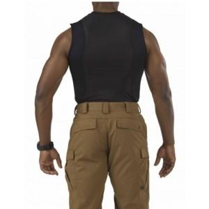 5.11 Tactical Sleeveless Men's Holster Shirt in Black - Medium