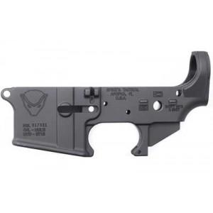 Spike's Tactical Stls020 Honey Badger, Stripped Lower, Semi-automatic, 223 Rem/556nato, Black Finish, Honey Badger Logo Stls020
