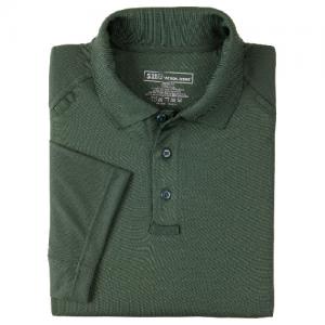 5.11 Tactical Performance Men's Short Sleeve Polo in LE Green - Medium