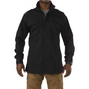 5.11 Tactical Taclite M-65 Men's Full Zip Jacket in Black - 2X-Large
