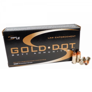 CCI Speer Gold Dot .40 S&W Gold Dot Hollow Point, 165 Grain (50 Rounds) - 53970