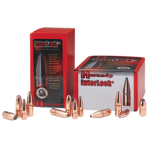 Hornady Rifle Bullet 6MM Cal 100 Grain Boat Tail Spire Point 100/Box 2453