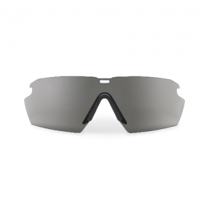 Crosshair ONE (Smoke Gray Lens) - One Black Crosshair frame w/interchangeable Smoke Gray lens. Microfiber cleaning pouch