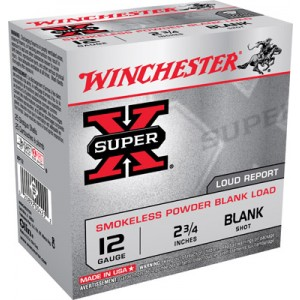 Winchester 12 Gauge Black Powder Field Trial Popper Load 25 Round Box XP12