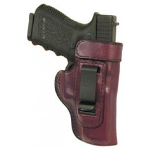 Don Hume H715m Clip-on Holster, Inside The Pant, Fits S&w M&p.40 Caliber, Right Hand, Brown Leather J168213r - J168213R