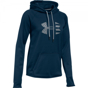 Under Armour Big Logo Women's Pullover Hoodie in Academy - 2X-Large