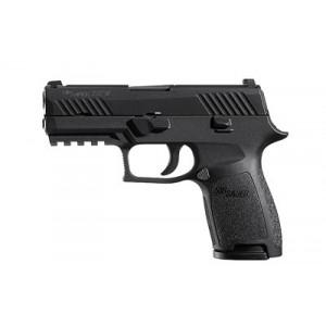 "Sig Sauer P320 Compact 9mm 10+1 3.9"" Pistol in Black Nitron (Internal Safety System) - 320C9B10"