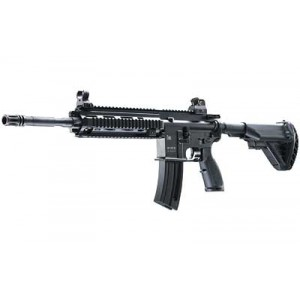"""Walther USA 416D .22 Long Rifle 20-Round 16.1"""" Semi-Automatic Rifle in Black - 5780301"""