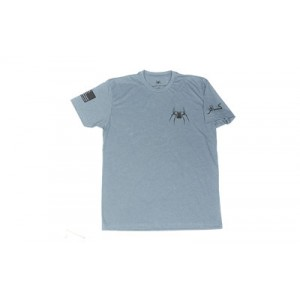 Spike's Tactical Waterboarding Instructor Men's T-Shirt in Indigo - 2X-Large