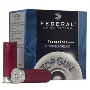 "Federal Cartridge Top Gun Target .12 Gauge (2.75"") 8 Shot Lead (25-Rounds) - TG1218"