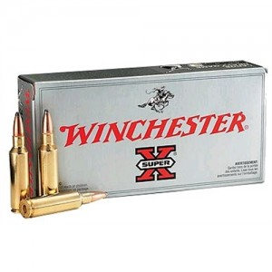 Winchester Super-X 6.5X55 Swede Soft Point, 140 Grain (20 Rounds) - X6555