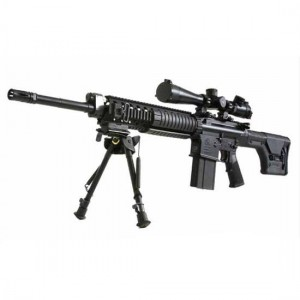 "Armalite AR-10 Super S.A.S.S. .308 Winchester 20-Round 20"" Semi-Automatic Rifle in Black - 10SBF"