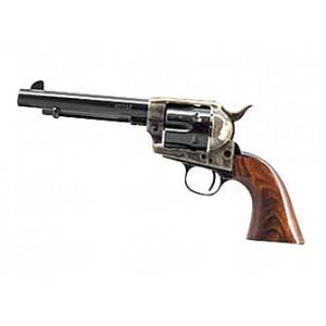 """Cimarron Mod P.45 Long Colt 6-Shot 5.5"""" Revolver in Blued - MP411"""