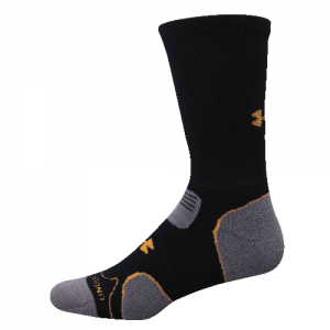 UA Hitch Lite Cushion Boot Socks Color: Black/Blast Size: Medium