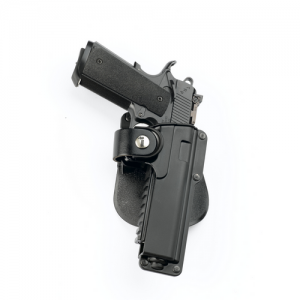 Paddle Holder Gun Fit: Colt 1911 full size (must be 5in.) w/ light or laser Hand: Right - T1911