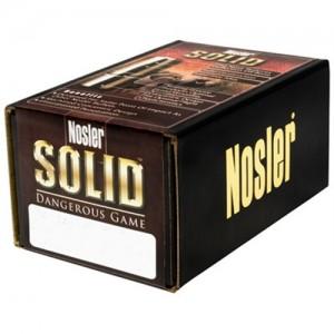 Nosler 470 500 Grain Dangerous Game Flat Point 25/Box 28455