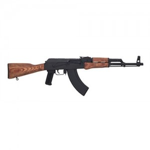 "Century Arms WASR-3 .223 Remington/5.56 NATO 30-Round 16.25"" Semi-Automatic Rifle in Black - RI1168N"