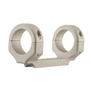 """DNZ Products 1"""" Medium Silver Base/Rings For Ruger 10/22 11083"""