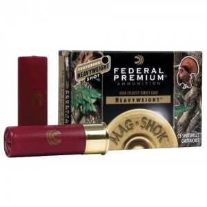 "Federal Cartridge Premium Mag-Shok Heavyweight Turkey .12 Gauge (3"") 5 Shot Lead (5-Rounds) - PHT193F5"