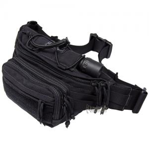 Maxpedition Octa Waterproof Waist Pack in Black Nylon 1000D Nylon - 0455B