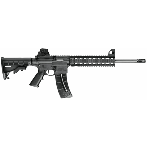 "Smith & Wesson M&P 15-22 .22 Long Rifle 10-Round 16.5"" Semi-Automatic Rifle in Black - 811062"