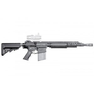 "Knights Armament Company Enhanced .308 Winchester/7.62 NATO 20-Round 16"" Semi-Automatic Rifle in Black - 30365"