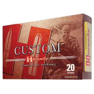 Hornady .257 Weatherby Magnum Interbond, 110 Grain (20 Rounds) - 81363