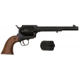 "Citadel 1873 Standard.22 Long Rifle/.22 Winchester Magnum 6-Shot 7.5"" Revolver in Black - PCR1873227WT"