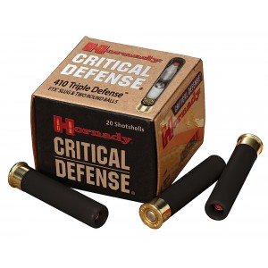 "Hornady Critical Defense Round Balls/ Triple Defense .410 Gauge (2.5"") Slug (Non-Jacketed) Lead (20-Rounds) - 86238"