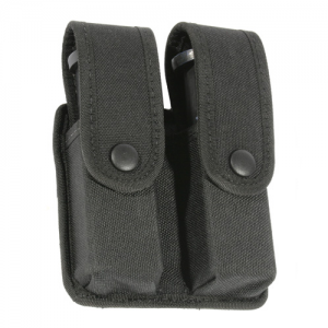 Blackhawk Divided Pistol Magazine Case W/ Inserts Magazine Pouch in Black - 44A056BK
