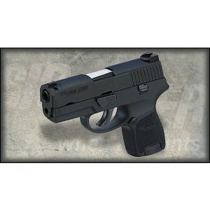 "Sig Sauer P250 SubCompact .45 ACP 6+1 3.6"" Pistol in Black Nitron (SIGLITE Night Sights) - 250SC45BSS"