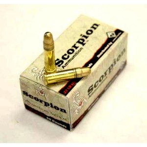 American Tactical Imports .22 Long Rifle High Velocity Solid Point, 40 Grain (50 Rounds) - ATIA22HV50