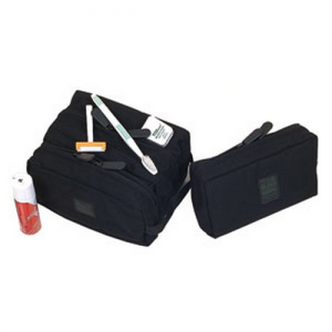 Blackhawk Travel Shave Kit Shave Kit in Black 1000D Nytaneon - 20SK01BK