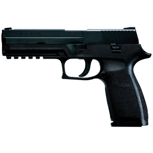 "Sig Sauer P250 Full Size .357 Sig Sauer 14+1 4.7"" Pistol in Black Nitron (No Manual Safety) - 250F357B"