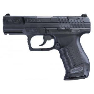 """Walther P99AS 9mm 10+1 4"""" Pistol in Matte Blue - 2796326"""