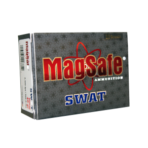 MagSafe Ammo SWAT 9mm Pre-Fragmented Bullet, 45 Grain (10 Rounds) - 9MMSWAT