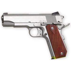 """Dan Wesson Commander .45 ACP 8+1 4.25"""" 1911 in Stainless Steel (Classic Bobtail *CA Compliant*) - 01912"""