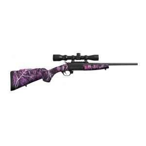 "Traditions Crackshot .22 Long Rifle 16.5"" Single Shot Rifle in Blued - CR1220079"
